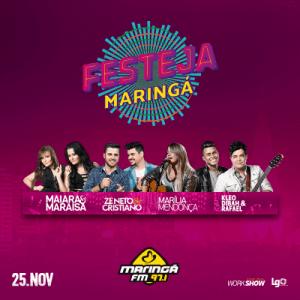 Festeja Maringá 2016 - Ingressos e Shows