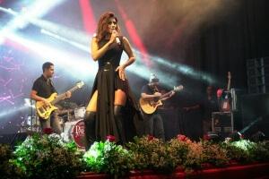 Paula Fernandes em Ciudad del Este