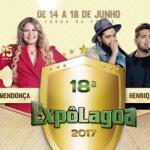 Confira a programação completa da ExpoLagoa 2017