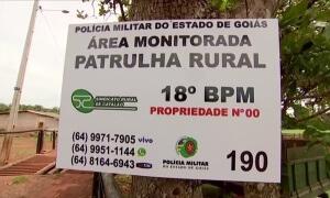 Patrulha Rural diminui assalto em fazendas