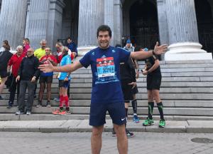 Cantor Daniel participa de Meia Maratona em Madrid