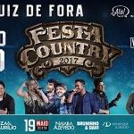 A Festa Country Juiz de Fora 2017 será realizada entre os dias 18e 21de maioe promete marcar história com uma ...