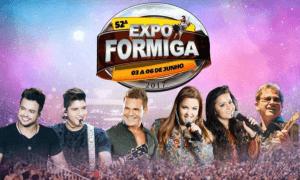 Expo Formiga 2017 - Ingressos e Shows