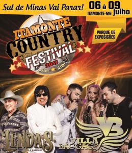 Itamonte Country Festival 2017 - Programação