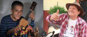 Violeiro Paulo Freire e contador de causos Ditão Virgílio apresentam Causos, Prosa e Viola em São José dos Campos/SP