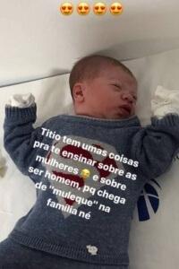 Filho de Gusttavo Lima e Andressa Suita