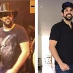 """Determinado a aparecer em boa forma no novo DVD,o cantorSorocaba perde 11kg em 35 dias! Com a ajuda da """"coach""""Mayra ..."""
