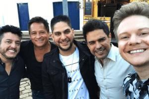 Bruno, Leonardo, Jorge e Zezé participam do Bem Sertanejo