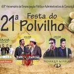Confira a programação completa da Festa do Polvilho 2017 - Conceição dos Ouros (MG)