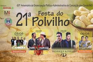 Festa do Polvilho 2017 - Conceição dos Ouros (MG)