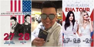 João Bosco e Vinícius e May e Karen fazem turnê nos Estados Unidos