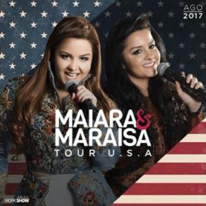Maiara e Maraisa fazem primeira turnê nos EUA De 24 a 28 de agosto, as gêmeas mais queridas do Brasil levam todo seu charme e talento para quatro cidades dos Estados Unidos. Serão quatro dias de apresentações, que acontecem respectivamente ...