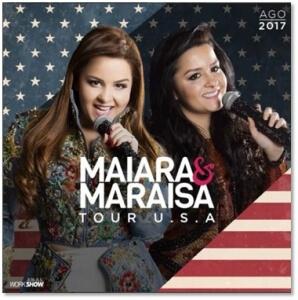 Maiara e Maraisa fazem primeira turnê nos EUA