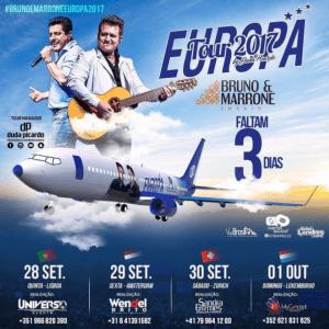 Turnê de Bruno e Marrone na Europa