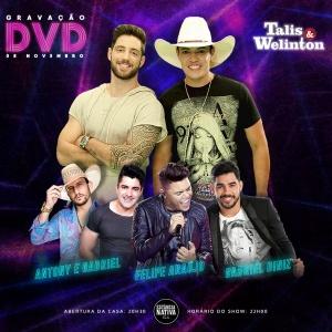 Talis e Welinton anunciam a gravação de DVD com grandes participações especiais