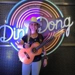 A cantora Bruna Viola foi destaque no primeiro Ding Dong de 2018. O quadro faz parte do Domingão do Faustão ...