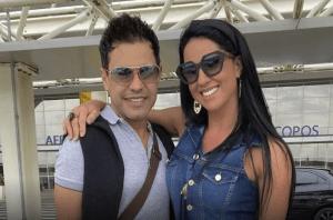 A noiva do cantor sertanejo Zezé di Camargo, se pronunciou sobre um vídeo que circulou na internet, onde ela teria ...
