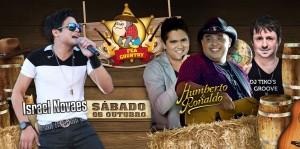 A dupla sertaneja Humberto e Ronaldo e o cara do arrocha, Israel Novaes irão se apresentar no próximo dia 05, no FEA Country 2013 em Ribeirão Preto (SP). Os sertanejos Humberto e Ronaldo já se apresentaram na primeira edição do ...