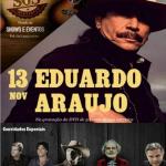 Eduardo Araújo grava hoje em Belo Horizonte (MG) seu primeiro DVD comemorando 50 anos de carreira. Para a festa, o ...