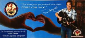 """O cantor Leonardo realiza, pela 14ª vez, o leilão beneficente em prol da """"Casa de Apoio São Luiz"""", em Goiânia, no próximo dia 13. A instituição filantrópica, fundada em 1999 e coordenada por dona Carmen, mãe do cantor, cuida e ..."""