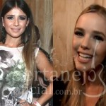 Na noite de ontem, dia 15, as cantorasPaula Fernandese Thaeme Mariôto foram conferir o desfile de despedida da modelo internacional, ...