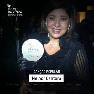 Roberta Miranda ganha Prêmio da Música Popular Brasileira No último dia 10, aconteceu a 26ª edição do Prêmio da Música Brasileira que homenageou os 50 anos da cantora Maria Bethânia, o evento contou com a presença de artistas econvidados e ...