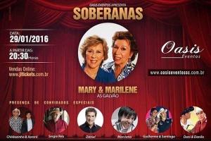 As Galvão, Gravação DVD Soberanas comemora 70 anos de carreira da dupla De Sapesal para o mundo… As irmãs Mary e Marilene, conhecidas como As Galvão, gravarão no próximo dia 29/01 , o DVD em homenagem aos 70 anos de ...