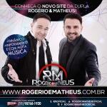 Rogério e Mateus lançam novo site! A dupla sertaneja Rogério e Matheus está lançando nesta semana o seu novo site, ...