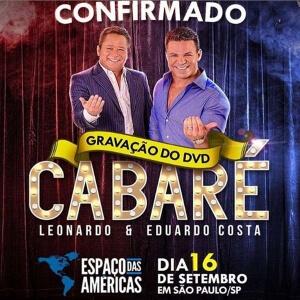 Segunda edição do show que une dois dos maiores nomes do sertanejo será registrado no Espaço das Américas, em São Paulo;  venda de ingressos começou na última sexta-feira (01)