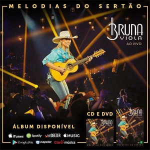 "DVD ""Melodias do Sertão"" - Bruna Viola"