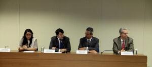 Na cerimônia, ministro interino destaca a consciência ambiental do produtor brasileiro