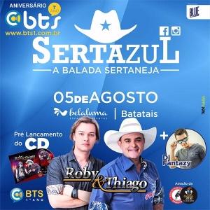 Aniversário da BTS – Sertazul A rádio que mais cresce em Batatais e toda região, em comemoração ao seu aniversário, ...
