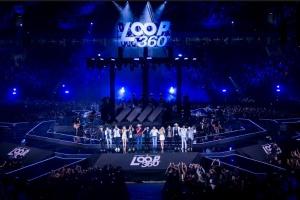 DVD traz show inovador com sete diferentes artistas
