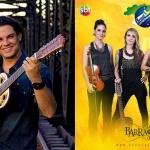 Programa Brasil Caminhoneiro (SBT) recebe banda feminina Barra da Saia, confira!