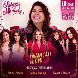 Roberta Miranda convoca Simone e Simaria, Maiara e Maraisa, Marília Mendonça e Solange Almeida para participarem de seu próximo álbum.