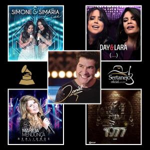 Grammy Latino 2017: Melhor Álbum de Música Sertaneja. Após ser adiado, por causa do terremoto do México,oanúncio dos indicados aoGrammy ...